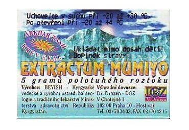 Mumiyo extractum 5g