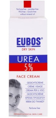 EUBOS UREA 5% krém na obličej 50ml
