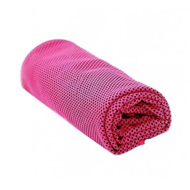 SJH 540A Chladící ručník růžový 32 x 90 cm