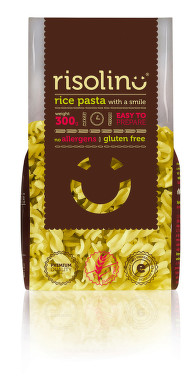 Rýžové bezlep.těstov.RISOLINO Premium 300g FUSILLI