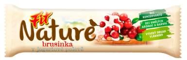 FIT Musli Nature brusinka jogurt 28g