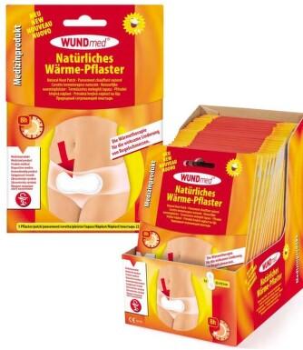 Hřejivá náplast WUNDmed proti menstr. bolestem 1ks
