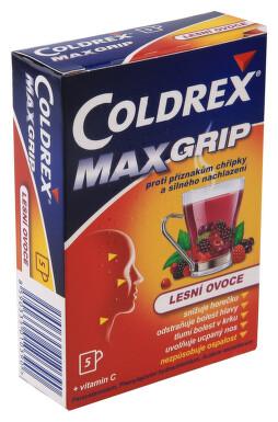 COLDREX MAXGRIP LESNÍ OVOCE perorální prášek pro přípravu roztoku 5