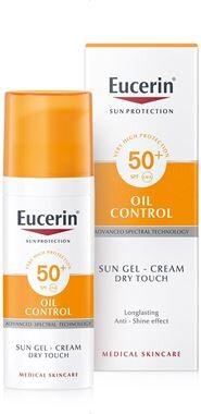 EUCERIN SUN Gel na obl Oil Control SPF50+50ml_2018