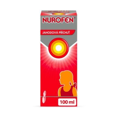 NUROFEN PRO DĚTI 4% JAHODA 40MG/ML perorální SUS 100ML
