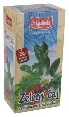 Apotheke Zelený čaj s echinac. a rakytníkem 20x2g