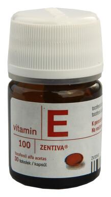 VITAMIN E 100-ZENTIVA perorální měkké tobolky 30X100MG