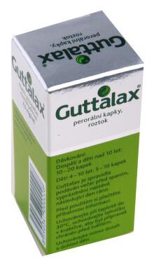 GUTTALAX perorální kapky, roztok 1X15ML