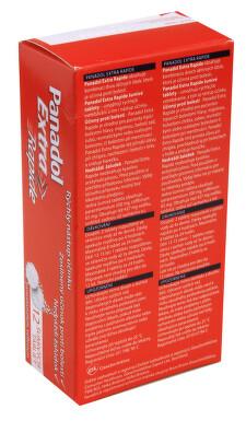 PANADOL EXTRA RAPIDE perorální šumivá tableta 12