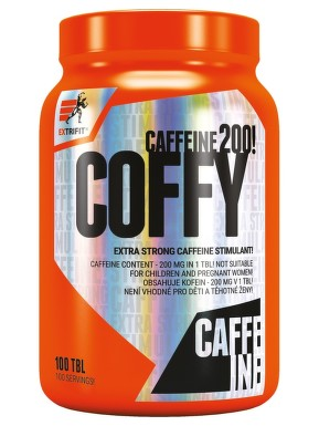 EXTRIFIT Coffy 200mg Stimulant tbl.100