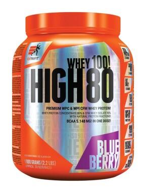 EXTRIFIT High Whey 80 1000g Blueberry