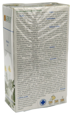 LIST SENNY perorální léčivý čaj 20X1GM(SÁČKY)