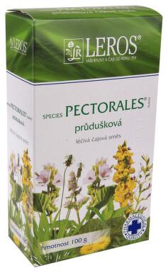 SPECIES PECTORALES PLANTA perorální léčivý čaj 1X100GM