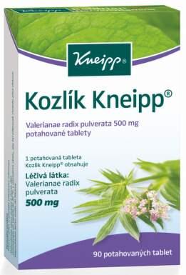 KOZLÍK KNEIPP perorální potahované tablety 90X500MG