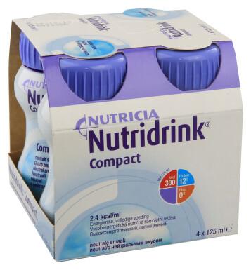 NUTRIDRINK COMPACT NEUTRAL perorální roztok 4X125ML