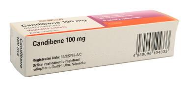 CANDIBENE 100 MG vaginální tablety 6X100MG