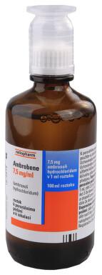 AMBROBENE 7,5 MG/ML perorální roztok 1X100ML