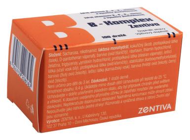 B-komplex Zentiva drg.100 Glass