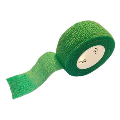 Rychlonáplast elastická 25mm x 450cm Zelená
