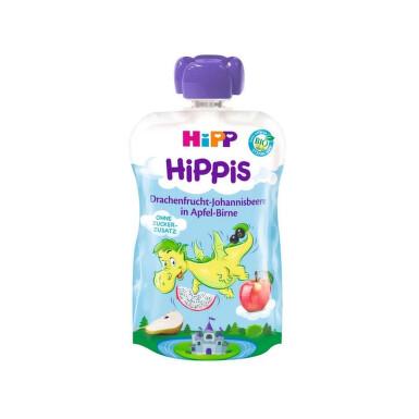 HiPP BIO 100% ovoce Jabl-Hruš-Dračí ov.-Rybíz 100g