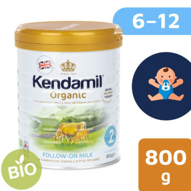 Kendamil kojenecké pokračovací mléko BIO 2 800gNew