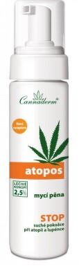 Cannaderm Atopos mycí pěna 180ml