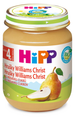 HiPP OVOCE BIO Hrušky Williams-Christ.125g