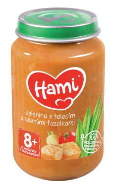 Hami příkrm zel.s telecím masem 200g 8M