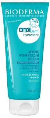 BIODERMA ABCDerm Hydratant tělové mléko 200ml