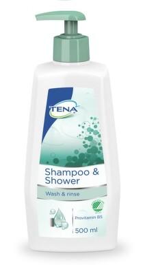 TENA Shampoo&Shower šampon+spr.gel 500ml 1208