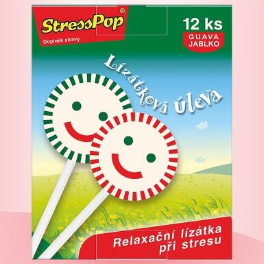 VitaHarmony StressPop 12 lízátek proti stresu
