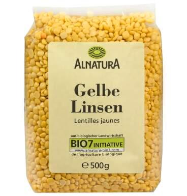 Alnatura Žlutá čočka 500g