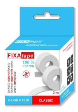 Tejp.páska FIXAtape Classic 2.5cmx10m 2ks