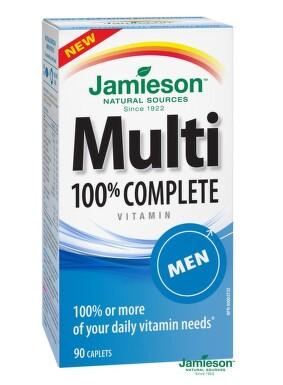 JAMIESON Multi COMPLETE pro muže tbl.90