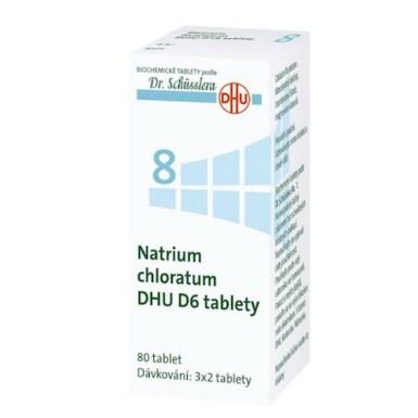 NATRIUM CHLORATUM DHU D5-D30 neobalené tablety 80