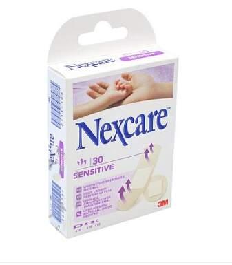 3M Nexcare Sensitive náplast různé velikosti 30ks