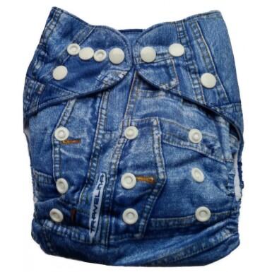 BI 65C Bambusové pleny vše v jednom Univers.jeans