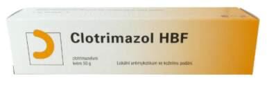 CLOTRIMAZOL HBF 10MG/G krém 1X50G