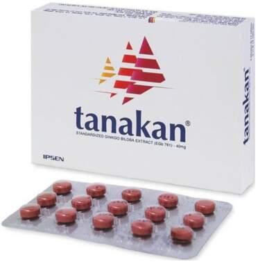 TANAKAN potahované tablety 90