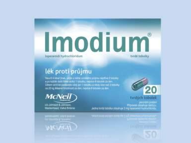 IMODIUM perorální tvrdé tobolky 20X2MG