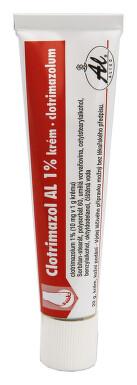 CLOTRIMAZOL AL 1% kožní podání krém 1X20GM 1%