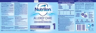 NUTRILON 1 ALLERGY CARE perorální SOL 1X450G