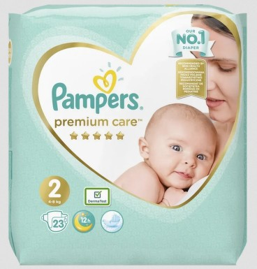 Pampers Premium Carry Pack S2 23ks