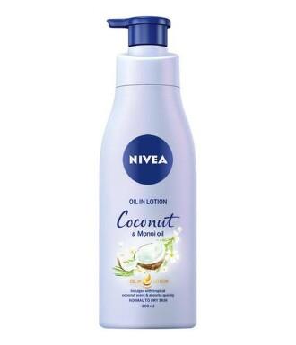 NIVEA Tělové mléko Coconut&Manoi Oil 200ml 84382