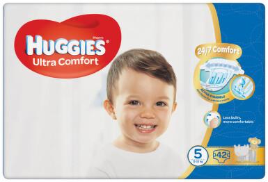 HUGGIES Ultra Comfort Jumbo vel.5 12-22kg 42ks