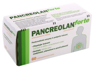 PANCREOLAN FORTE perorální enterosolventní tableta 60X220MG