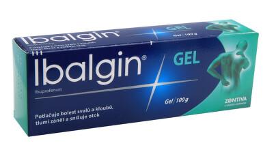 IBALGIN GEL kožní podání gely 1X100GM