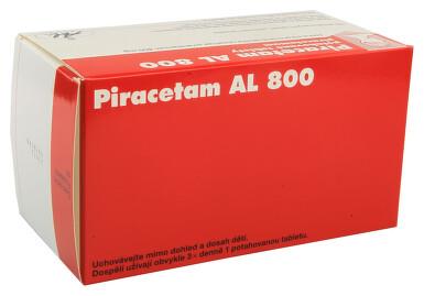PIRACETAM AL 800 perorální potahované tablety 100X800MG