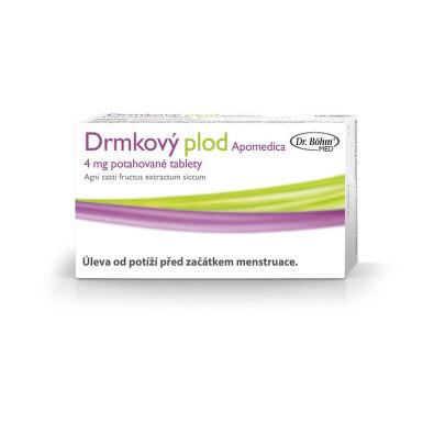 DRMKOVÝ PLOD APOMEDICA 4 MG potahované tablety 60