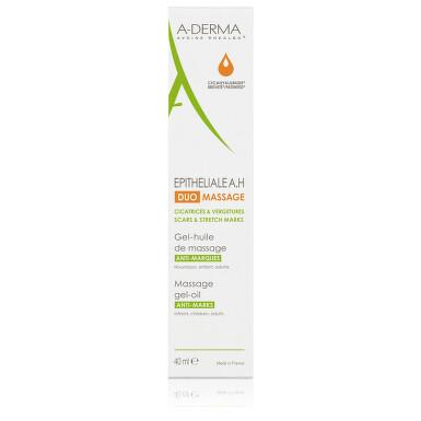 A-DERMA Epiteliale AH DUO Massage gel/olej 40ml
